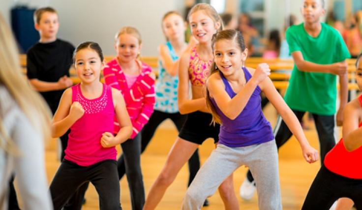 Модерни танци за деца
